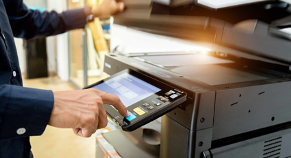 We provide prompt, friendly, and local service in Duluth, Superior, Cloquet and the surrounding area. Our certified technicians service Konica Minolta, Canon, and Hewlett Packard devices.